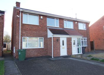Thumbnail 3 bedroom semi-detached house to rent in Braddon Road, Loughborough