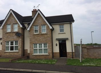 Thumbnail 3 bed semi-detached house to rent in Greenhall Court, Garvagh, Coleraine