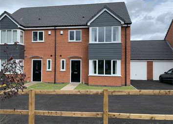 Thumbnail 4 bed semi-detached house for sale in Windsor Gardens, Croft, Leicester