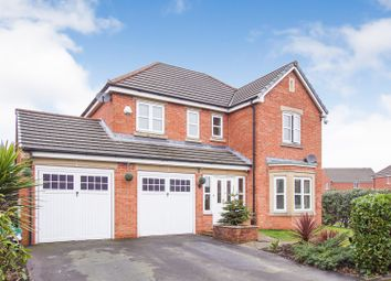 Thumbnail 4 bed detached house for sale in Lavender Gardens, St. Helens