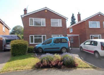 Thumbnail 4 bed detached house to rent in Cherry Leys, Winshill, Burton Upon Trent