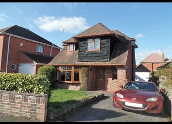 Thumbnail 3 bed detached house for sale in Rushington Avenue, Totton