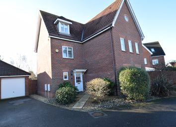 Thumbnail 5 bed detached house for sale in Kingfisher Road, Bury St. Edmunds, Suffolk