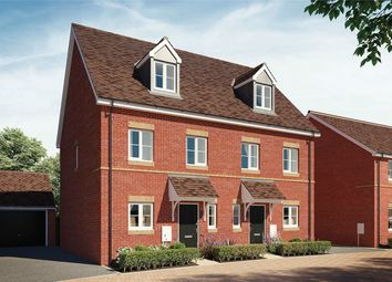 Thumbnail 3 bed town house for sale in The Rosewood, Greenway Place, Wixams, Bedford