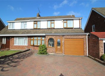 Thumbnail 4 bed semi-detached house for sale in Chesworth Close, Erith, Kent