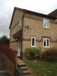 Thumbnail 2 bedroom end terrace house to rent in Reims Court, New Duston, Northampton