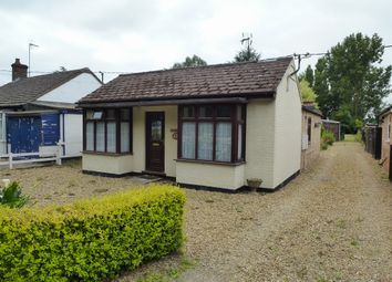 Thumbnail 2 bed detached bungalow for sale in Outwell Road, Elm, Wisbech