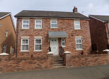 Thumbnail 4 bed detached house for sale in Heol Stradling, Coity, Bridgend.