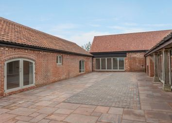 Thumbnail 6 bed barn conversion for sale in Abbey Road, Flixton, Bungay