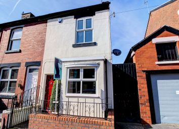Thumbnail 2 bedroom end terrace house for sale in Winifred Road, Stockport