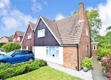 Thumbnail 4 bed semi-detached house for sale in Cranbrook Drive, Sittingbourne, Kent