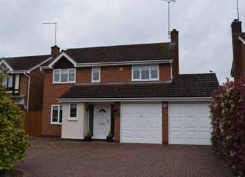 Thumbnail 4 bed detached house for sale in Walkers Way, South Bretton, Peterborough