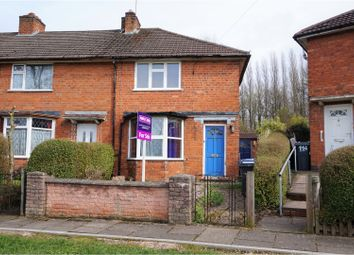 Thumbnail 2 bed end terrace house for sale in Pineapple Road, Birmingham