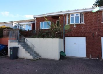 Thumbnail 3 bed semi-detached bungalow to rent in Travershes Close, Exmouth, Devon.