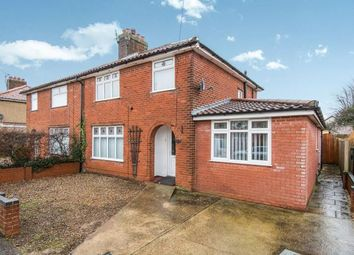Thumbnail 4 bedroom semi-detached house for sale in Hellesdon, Norwich, Norfolk