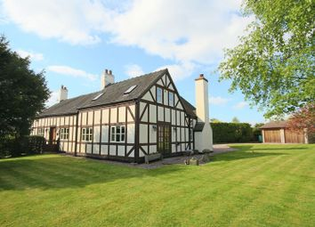 Thumbnail 4 bed detached house for sale in Yew Tree Lane, Wistanswick, Market Drayton