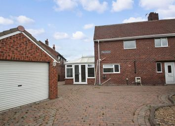 Thumbnail 3 bed semi-detached house for sale in West Avenue, Upton, Pontefract