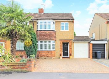 Thumbnail 3 bed semi-detached house for sale in Trafalgar Avenue, Broxbourne, Hertfordshire.