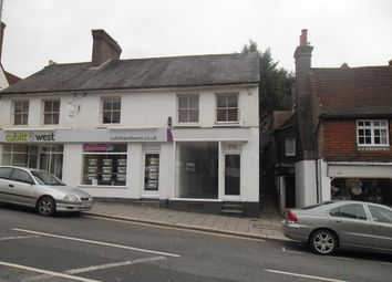 High Street, Uckfield TN22. Retail premises to let