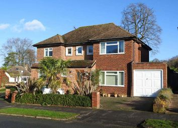 Thumbnail 4 bed detached house for sale in Hawkwood Rise, Bookham, Leatherhead