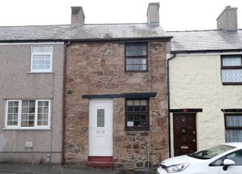 Thumbnail 2 bed terraced house for sale in Snowdon Street, Caernarfon, Gwynedd
