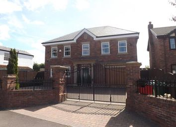 Thumbnail 4 bed detached house for sale in Chester Road, Stockton Heath, Warrington, Cheshire