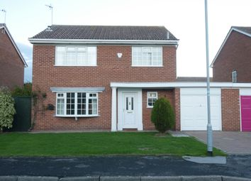 Thumbnail 3 bed detached house to rent in Boothgate Close, Howden, Goole