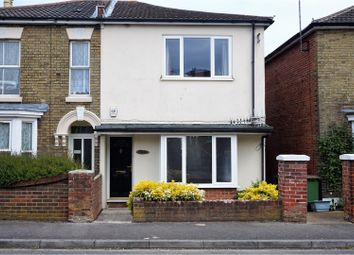 Thumbnail 3 bedroom semi-detached house for sale in Priory Road, Southampton