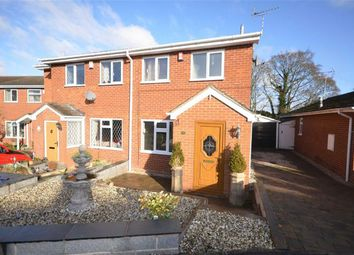Thumbnail 2 bed semi-detached house for sale in Highview Road, Fulford, Stoke-On-Trent