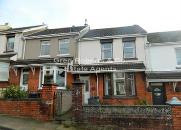Thumbnail 3 bed terraced house for sale in Fields Road, Tredegar, Blaenau Gwent.