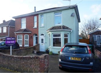 Thumbnail 3 bedroom semi-detached house for sale in Pinegrove Road, Sholing, Southampton