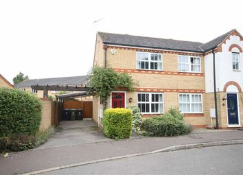 Thumbnail 2 bedroom semi-detached house for sale in Bullfinch Way, Cottenham, Cambridge