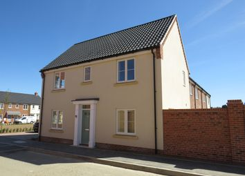 Thumbnail 3 bed end terrace house for sale in Partridge Way, Holt