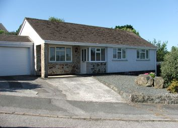 Thumbnail 3 bed detached bungalow for sale in Tregonning Parc, St Keverne