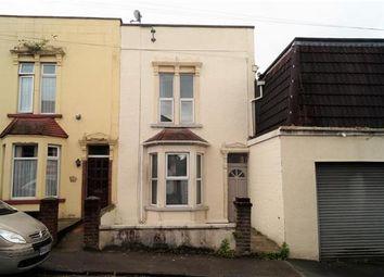 Thumbnail 2 bed end terrace house for sale in Heath Street, Eastville, Bristol