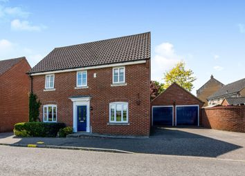 Thumbnail 4 bedroom detached house for sale in Lomond Road, Attleborough