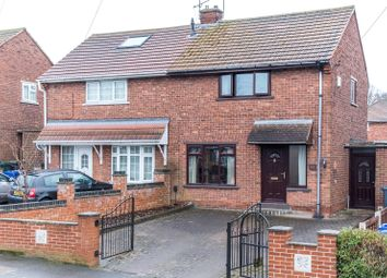 Thumbnail 2 bed semi-detached house for sale in Weston Road, Doncaster