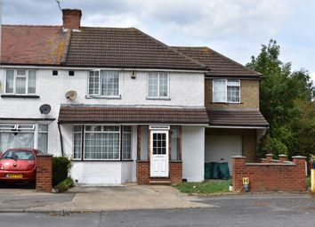Thumbnail 4 bed end terrace house for sale in Brookside Road, Hayes