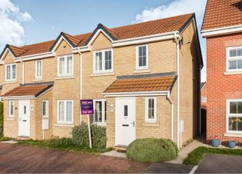 Thumbnail 2 bed end terrace house for sale in Taurus Avenue, North Hykeham, Lincoln