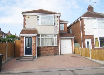 Thumbnail 3 bed detached house for sale in York Road, Chaddesden, Derby