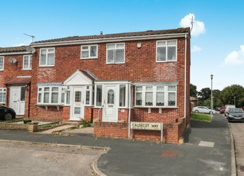 Thumbnail 3 bedroom semi-detached house for sale in Caldecot Way, Broxbourne