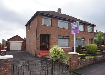 Thumbnail 3 bed semi-detached house for sale in Wolfhill Gardens, Belfast