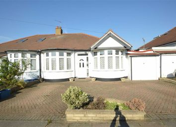 Thumbnail 2 bed semi-detached bungalow for sale in Leigh Avenue, Redbridge, Essex