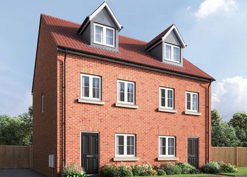 "Thumbnail 3 bed terraced house for sale in ""The Wyatt"" at Spellowgate, Driffield"