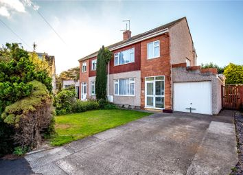 Thumbnail 4 bed semi-detached house for sale in Stanshaw Close, Frenchay, Bristol