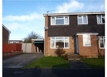 Thumbnail 3 bed semi-detached house to rent in Swallow Close, Alton