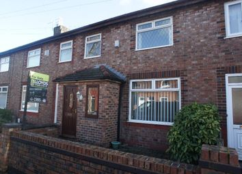 Thumbnail 3 bed terraced house for sale in Charlton Street, Latchford, Warrington