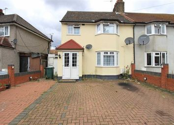 Thumbnail 4 bedroom end terrace house for sale in Meadow Road, Barking, Essex