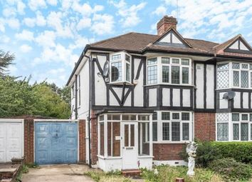 Thumbnail 4 bed semi-detached house for sale in Beverley Way, Wimbildon, London
