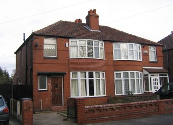 Thumbnail 3 bed semi-detached house to rent in Heyscroft Road, Withington
